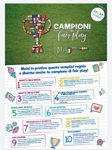 Campioni di fair play - Sport di classe a.s. 2019 20